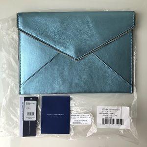 NWT Rebecca Minkoff Leo envelope Clutch